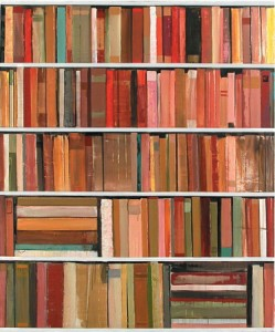 coloured books